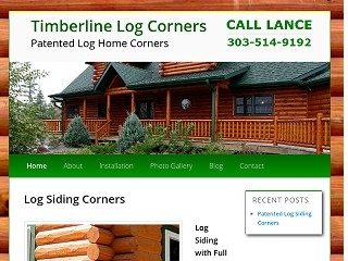 Timberline Log Corners