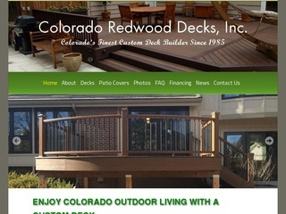 Colorado Redwood Decks