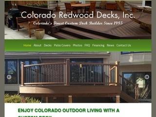 Colorado Redwood Decks
