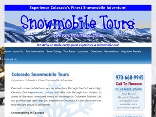 Colorado Snowmobile